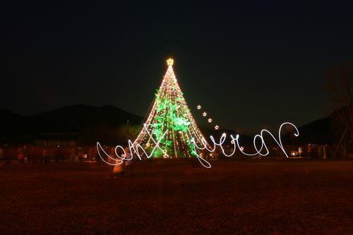 """逆に書いた""""Merry Xmas""""・・・(^_^;)"""